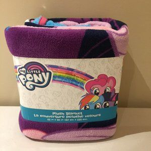 "My Little Pony Plush Blanket Super Soft 62"" x 90"""